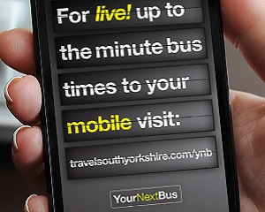 YourNextBus text message service