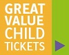 Great value child fares