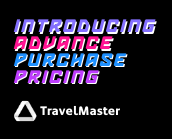 TravelMaster Advanced Purchase Pricing Jan 2020