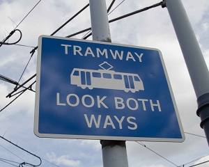 Tram rail safety