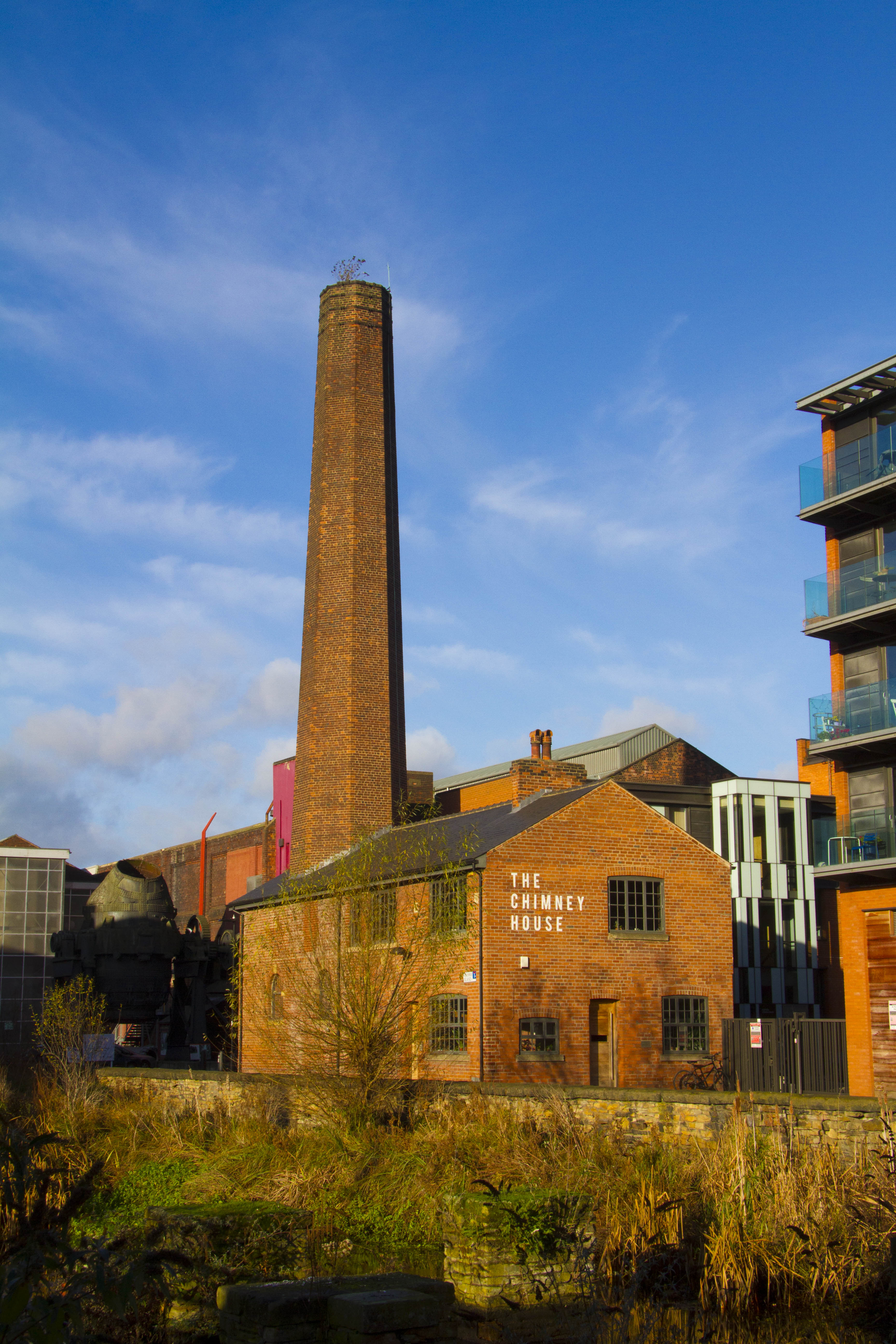 Kelham Island Chimney house